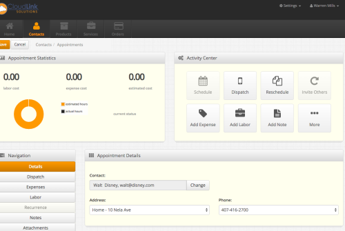 Track many complex details including times, work flow status, and build your own automation steps.