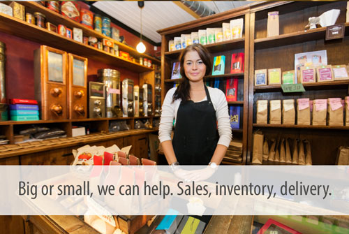 Big or small, we can help. Sales, inventory, delivery.