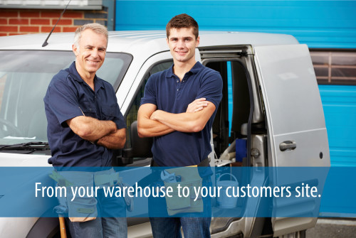 Easily create setup delivery services, or scheduled drivers to go via GPS to customer locations.